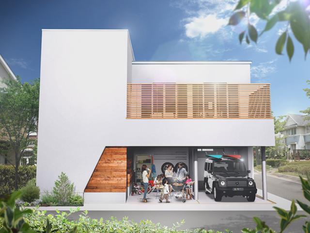 自由設計デザイン住宅