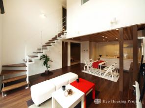 シンプル・開放的な住宅